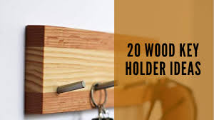 20 wooden key holder ideas