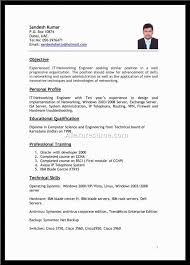 Best Ideas Of Ideal Resume Simple Resume Font Size Format Best