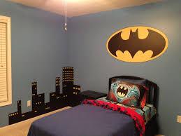 Batman Room Design Cityscape For My Sons Batman Room Kids Room Wall Decals