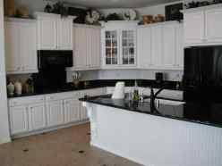 Grey Rhahhualongganggoucom Kitchens Dark Cabinets With White