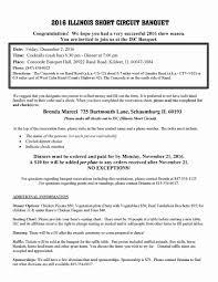 Banquet Info Illinois Short Circuit