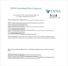 Consultant Proposal Template Sample Consulting Project Outline ...