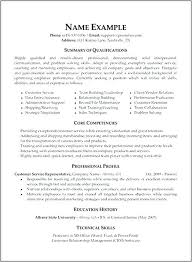 Customer Service Resume Skills Resume Qualifications And Skills Magnificent Resume Technical Skills