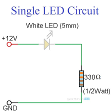 led wiring diagram 12v wiring diagram basic simple led circuits single led series leds and parallel ledssimple led circuits circuit 1