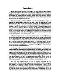nature essay fast online help nature related essay org view larger the genre of nature