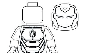 Mighty Micros Iron Man Coloring Pages Lego Marvel Super Heroes