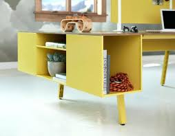 mesmerizing trunk in yellow connected to modular desk system elegant office modern modular home office furniture