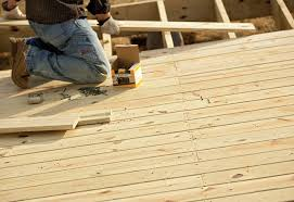 repairing decking or joists