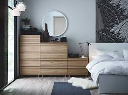 ikea malm bedroom furniture. Plain Furniture Scheme A Bedroom With Oppland Chest Of Drawers In Oak Malm Bed White  Ikea Furniture For D