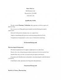 Resume Pharmacy Technician Job Description For Great Tomyumtumweb