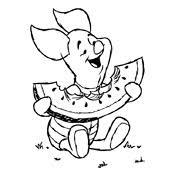 Kleurplaat Winnie De Pooh Disney 1703