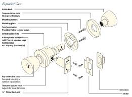 schlage a series exploded view