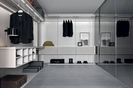 Small Picture Furniture Terrific Long Modern Walk In Closet Design With Glass