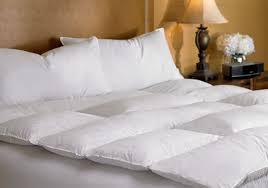 ritzcarlton hotel shop  featherbed  luxury hotel bedding