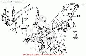 honda ct125 trail 1977 usa wire harness ignition coil wire harness ignition coil schematic