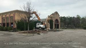 mayfaire owners demolish 1 million macaroni grill building stay mum on future plans