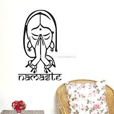 yoga wall art yoga wall stickers living room home decorative vinyl wall decals stickers art mural
