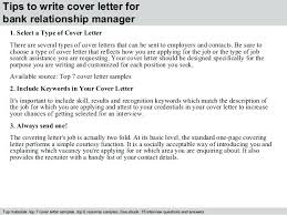 Cover Letter For Relationship Manager Resume Template Directory