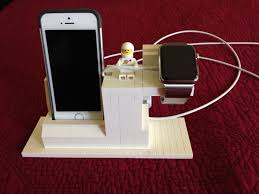 Make Charging Station Lego Charging Station For Apple Watch And Iphone Lego Creations