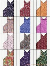 Best 25+ Cat quilt patterns ideas on Pinterest | Cat quilt ... & Calico Kitty Cats Kittens Grab Bag of Fabric Easy Pre-Cut Quilt Blocks Top  Kit Fussy Cutter Quilt Kits Adamdwight.com