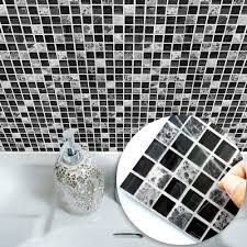 Funlife Self Adhesive Mosaic Tile Wall Sticker Kitchen Bathroom Decor Vinyl Wall Stickers Waterproof Peel Stick Pvc Tiles Panel Wall Sticker Tile Stickersmosaic Tile Stickers Aliexpress