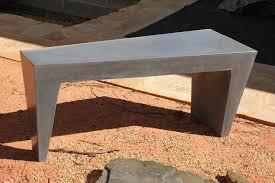 polished concrete furniture. Polished Concrete Bench Furniture N