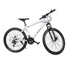 belovedkai mountain bike 26 carbon steel frame 21 sd wheel mountain bike 26 inch racing