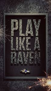 ravens it feels good to fly with the flock especially if that flock is seventy