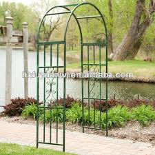 arch trellis various garden by classic home depot fence topper for vegetables