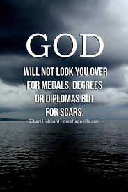 Christian Stress Quotes Best of Inspirational Quote God Will Not Look You Over For Medals