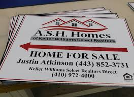 Car For Sale Sign Examples Custom Real Estate Signs 21 Sign Ideas Experienced Agents Love