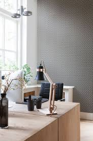 wallpaper for office walls. Gainsboro Entwined Wallpaper #homeoffice #design #transformationthursday For Office Walls