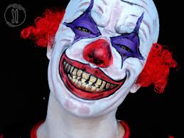evil clown makeup tutorial evil clown makeup tutorial