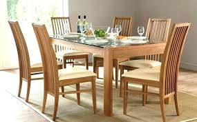 6 chair round dining table set round dining table with 6 chairs glass dining table
