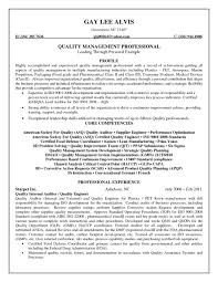 Quality Assurance Resume Objective Sample Resume For Quality Assurance Manager trending software qa manager 13