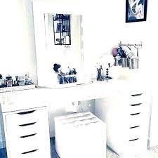 Bedroom Vanity Desk Makeup Vanity Desk With Lights Makeup Vanity Set ...