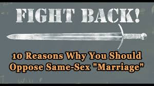 10 reasons why homosexual marriage is harmful and must be 10 reasons why homosexual marriage is harmful and must be opposed tfp student action