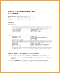 How To Write Agenda For A Meeting Sample Agenda Template For