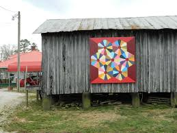 191 best Painted Barn Quilts images on Pinterest | Covered decks ... & On the McDowell Quilt Trail Adamdwight.com
