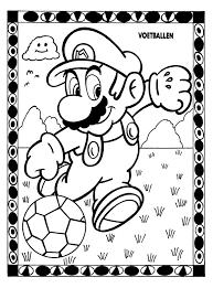Kleurplaten Paradijs Kleurplaat Mario Moet Op Zn Hoede Zijn Voor