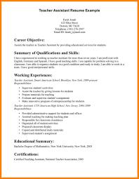 Teaching Assistant Resume 100 Teaching Assistant Resume Example Gunitrecors 87
