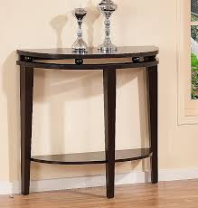 black half moon console table. Perfect Table Black Half Moon Console Table Unique New Cool Wall Mounted 9 In