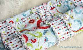 An Easy and Simple Way to Make a Baby Rag Blanket — Angie's Art Studio & baby rag blanket Adamdwight.com