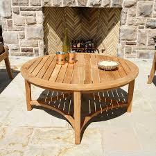 berwick round coffee table
