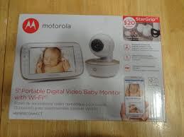 motorola 5 portable digital video baby monitor. picture 1 of motorola 5 portable digital video baby monitor