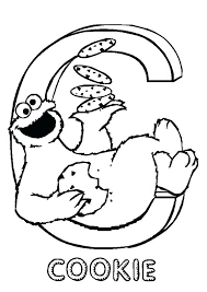 cookie coloring page c is for cookie coloring page cookie monster coloring pages c for cookie a cookie coloring kooky