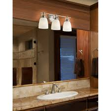 Contemporary Bathroom Vanity Light Fixtures Brushed Chrome Finish - Contemporary bathroom vanity lighting
