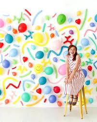 kids balloons diy photo booth backdrop frame ideas
