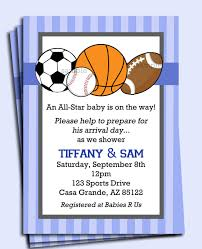 Birthday Invitation Design Templates Extraordinary Sports Birthday Invitations For Your Extraordinary Birthday