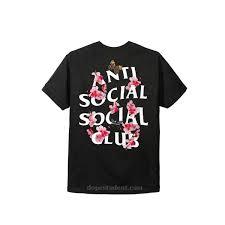 Anti Social Social Club Tee Size Chart Anti Social Social Club Assc Kkoch T Shirt Dopestudent